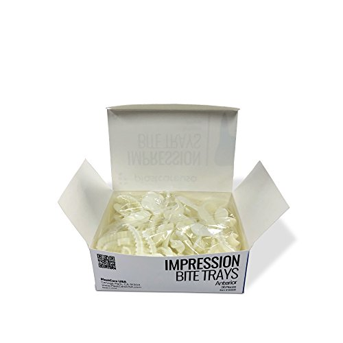 Dental Bite Registration Impression Trays, Anterior (35/Box)
