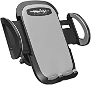 Beam Electronics Universal Smartphone Car Air Vent Mount Holder Cradle Compatible With iPhone XS XS Max XR X 8