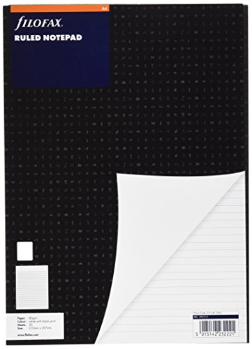 - Filofax 292213 Notepad A4 White