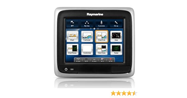Raymarine a65 Multifunction Display - Electrónica náutica (Radio), Color Negro, Talla UK: 5.7 Inch: Amazon.es: Deportes y aire libre