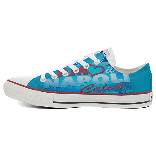 Converse All Star Customized - zapatos personalizados (Producto Artesano) Slim Amo Napoli