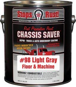 Magnet Paint Co Chassis Saver Floor & Machine Gray, 1 Gallon (MPC-UCP98-01)