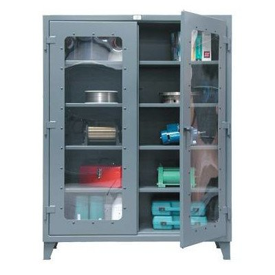 78''H x 60''W x 24''D 2 Door Storage Cabinet