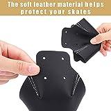 Ruisita 6 Pieces Toe Cap Guards Protectors Leather