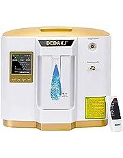 Generador de oxígeno portátil, concentrador de oxígeno pantalla de sincronización LED de 220 V Máquina de oxígeno portátil ajustable 93% de alta pureza para uso en el hogar