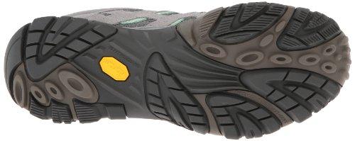 Merrell Womens Moab Waterproof Hiking Boot Drizzle/Mint xzkLW2U