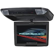 Power Acoustik PT-110CM 11.2-Inch Universal Ceiling Monitor, Black