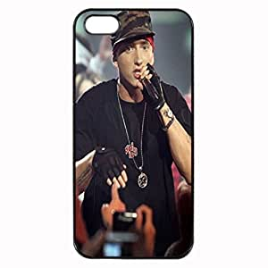 Eminem Unipue Custom Image Case iphone 5 case , iphone 5S case, Diy Durable Hard Case Cover for iPhone 5 5S , High Quality Plastic Case By Argelis-sky, Black Case New