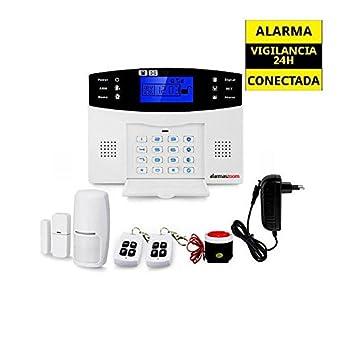 Alarma Hogar con voces en Español Castellano GSM y Teclado ...