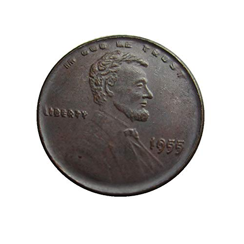 (xingtingyu 1955 Double Die Obverse Lincoln Wheat Cent Penny Coins)