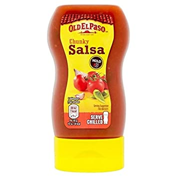 Old El Paso Squeezy Chunky Salsa 238g - Pack of 6