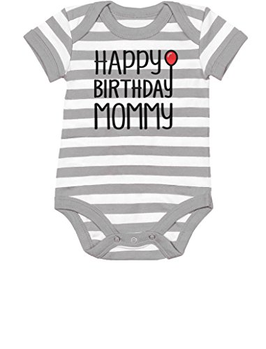 Tstars Happy Birthday Mommy Cute Boy/Girl Infant