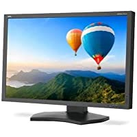 NEC 30 Widescreen LED Backlit LCD Color Accurate Desktop Monitor, 16:10 Aspect Ratio, 340cd/m2 Brightness, 1000:1 Contrast Ratio, 2560x1600, Black