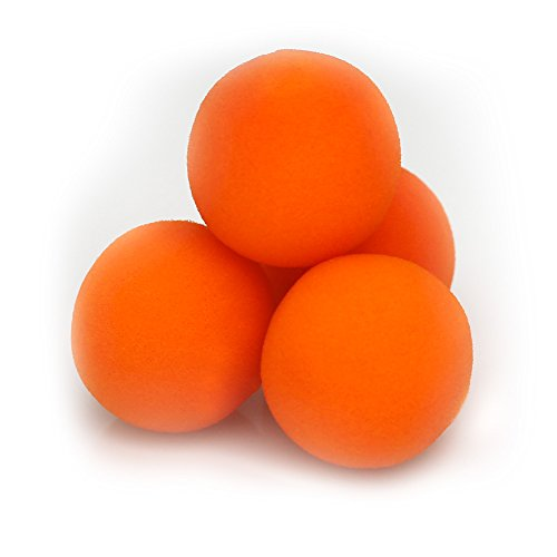 Sponge Balls for Magic Tricks - 2 inch (Vibrant Orange)