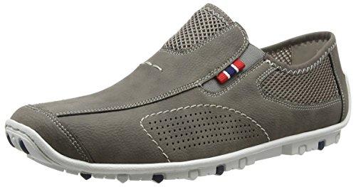 Rieker 08956 Loafers & Mocassins-men - Mocasines Hombre Gris - Grau (cement/dust / 40)