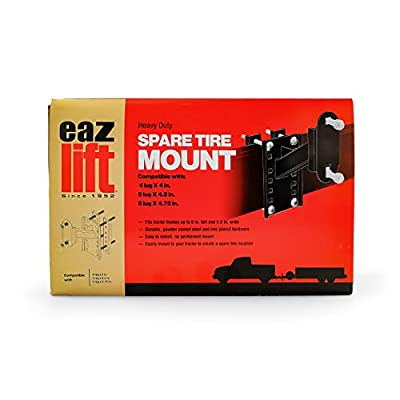 Eaz-Lift Spare Tire Carrier - Mounts to Your Trailer to Create a Spare Tire Mount Location | Fits Trailer Tongues Up to 6