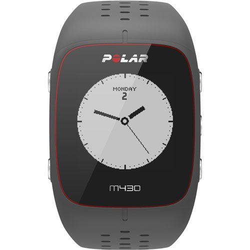 Polar M430 Wrist-Based Heart Rate GPS Running Watch Grey with Cinch Bag by Polar (Image #3)