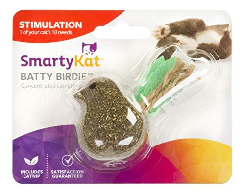(SmartyKat Batty Birdy, Compressed Catnip Cat Toy )