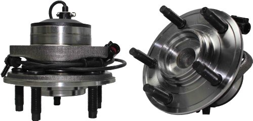 Hub Front Type (Brand New (Both) Front Wheel Hub and Bearing Assembly Jaguar S-Type, XJ8, XJR 5 Lug W/ ABS (Pair) 513169 x2)