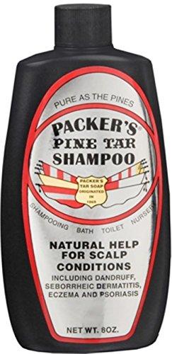 (PACKER'S Pine Tar Shampoo 8 oz)