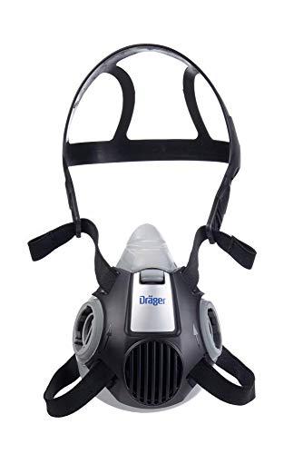 Dräger X-plore 3300 Half-Face Respirator Mask, Size L, NIOSH Approved