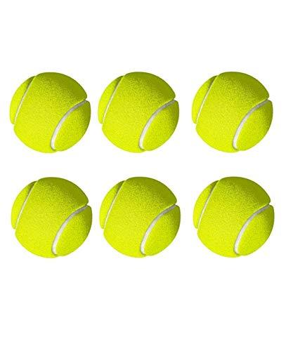 Netco Power Green Tennis Cricket Ball, Pack of 6