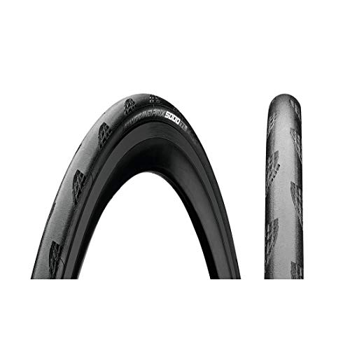 Continental C1024325 Grand Prix 5000 TL 700 X 25 Black-BW + Black Chili, 700X25