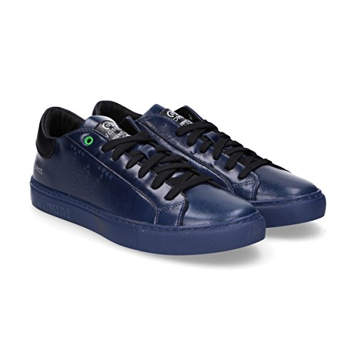 Uomo S270262 WOMSH Pelle Sneakers Blu qg5T5P