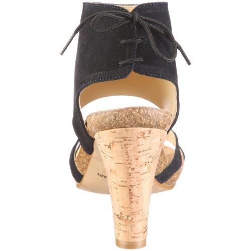 John W. Shoes Leticia 1083 Damen Sandalen/Fashion-Sandalen Blau/Dunkel Blau