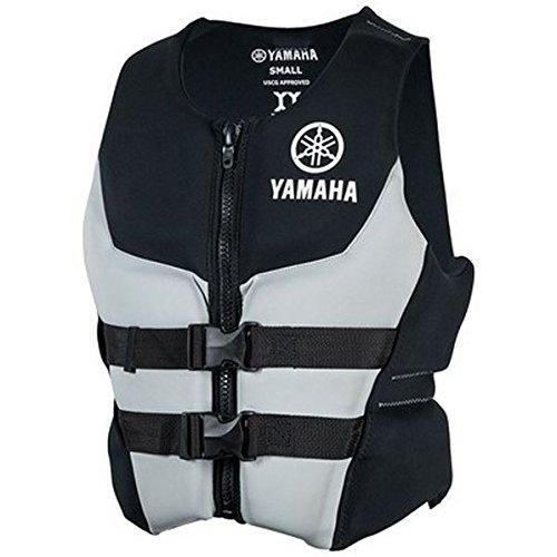 OEM Yamaha Men's Neoprene 2-Buckle PFD Life Vest Jacket GRAY SMALL