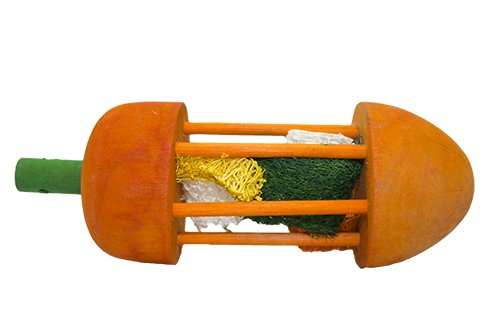 - Exotic Nutrition Carrot Roller Toy (2 Pack) - Small Animal Toy & Cage Accessory - Rabbits, Guinea Pigs, Chinchillas, Prairie Dogs, Degus, Rats & Other Small Animals