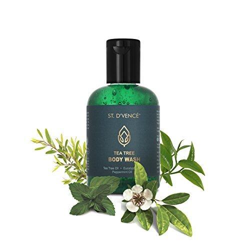 St. D'Vence Pure & Natural Antifungal Tea Tree Bath & Body Wash - 100 Ml