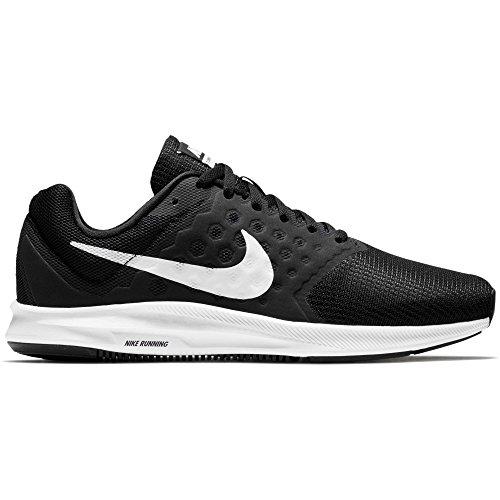 1d10361e74e0 Galleon - Nike Womens Downshifter 7 Running Shoe (Wide) Black White Size 11  Wide US