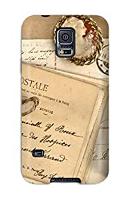Protection Case For Galaxy S5 / Case Cover For Galaxy(letters And Postcards)