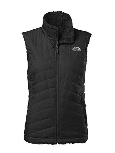 - The North Face Women's Mossbud Swirl Reversible Vest TNF Black Size Large