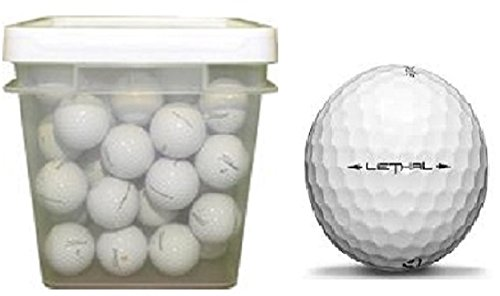 Taylormade Lethal Used Golf Balls (100-Ball Bucket)