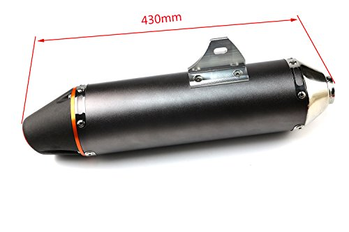 Cobra Dirt Bike (Aluminum Exhaust Muffler for Honda CRF150F CRF230F Dirt Bike MX Enduro 38MM)