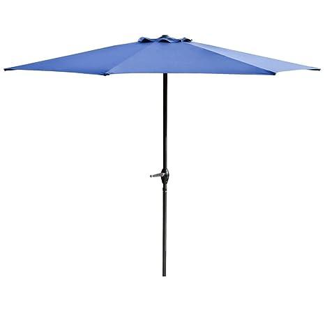 Autoday Patio Umbrella 7.8 Feet Aluminum Portable Patio Market Umbrella  Sunscreen & Windproof UV Protection Lightweight - Amazon.com : Autoday Patio Umbrella 7.8 Feet Aluminum Portable Patio