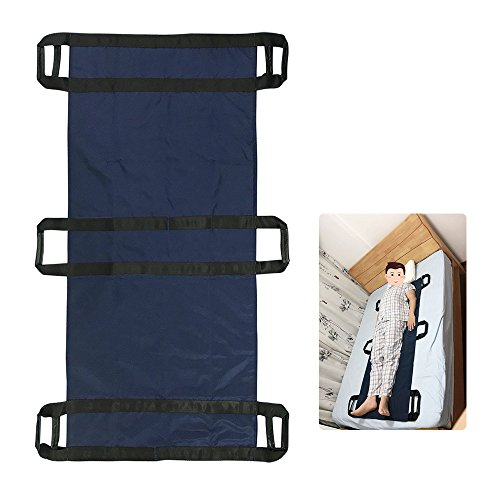 Patient Transfer Device - Transfer Boards Slide Belt Patient Lift Bed Assistance Devices Bariatric Hospital Bed Sheets Patient Transport Medical Lift Sling Positioning Pad (6 Handle)