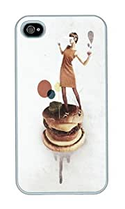 For LG G2 Case Cover ,WENJORS Cool These Burgers Are Crazy Collage Hard Case Protective Shell Cell Phone For LG G2 Case CoverPC White