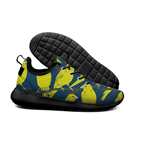 Outdoor And Breathable sneakers Yello Leaf lightweight Euixo Tropical and Parrots Blue men npOF0RxA