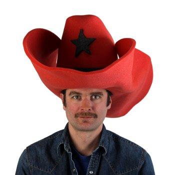 Amazon.com  Clown Antics Super Size 50 Gallon Cowboy Hats - Red (28