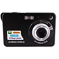 FairOnly Portable 18 Megapixels Digital Video Camera 2.7'' TFT Display Digital Zoom Video Camera Black
