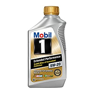 Mobil 1 (102989-6PK) Extended Performance 5W-20 Motor Oil - 1 Quart, (Pack of 6)