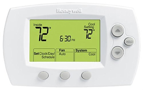 Honeywell TH6220 FocusPro 6000 5-1-1 Programmable Heat Pump Thermostat