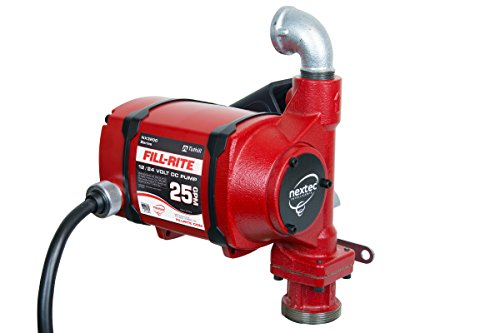 Fill-Rite NX3204 Nextec 25 GPM 12V/24V Continuous Duty Fuel Transfer Pump