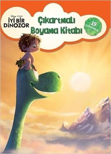 Disney Iyi Bir Dinozor çıkartmalı Boyama Kitabı 9786050929829