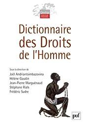 Dictionnaire des droits de l'homme