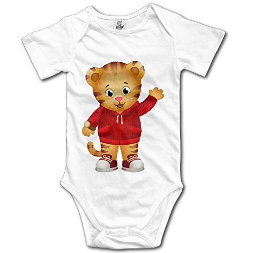 Price comparison product image Baby Boys Girls Daniel Tigers Neighborhood Cute Romper Bodysuits