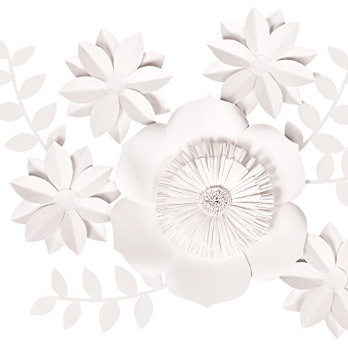 Ling S Moment 3d Artificial Flowers Large White Paper Flower